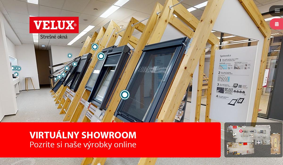 Virtuálny showroom VELUX